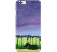 Scottie Dog 'Giant Allium' iPhone Case/Skin