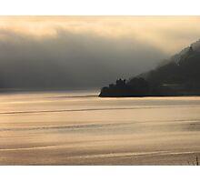 Winter Fog on Loch Ness Photographic Print