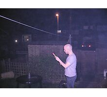 New Years Eve 2007 Fireworks Photographic Print