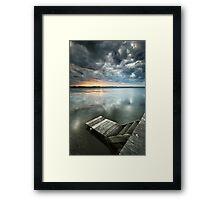 Long Jetty Framed Print