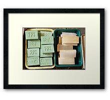 72% SOAP Framed Print