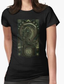 Parasite Womens Fitted T-Shirt