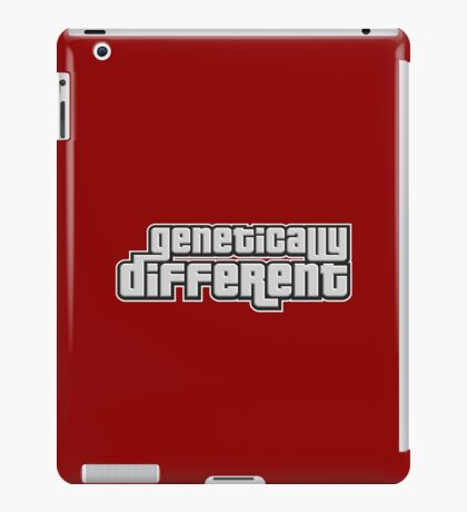 GENETICALLY DIFFERENT iPad Case/Skin