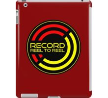 Record reel to reel iPad Case/Skin