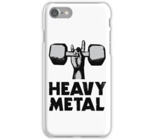 Heavy Metal Lifting iPhone Case/Skin