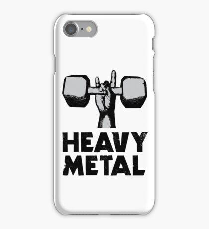 Heavy Metal Lifting iPhone Case/Skin