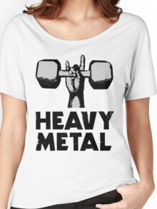 Heavy Metal Lifting Women's Relaxed Fit T-Shirt