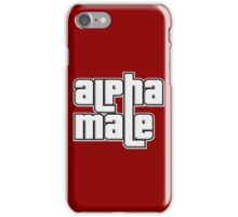 ALPHA MALE iPhone Case/Skin