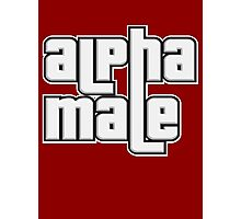 ALPHA MALE Photographic Print