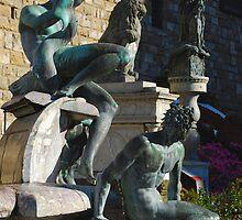Neptune Statue, Florence by jojobob
