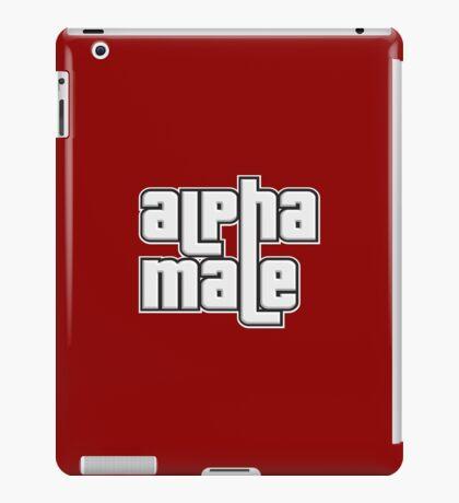 ALPHA MALE iPad Case/Skin