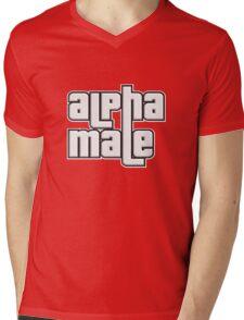 ALPHA MALE Mens V-Neck T-Shirt