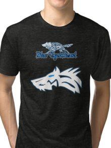 Blue-Eyed Beast Tri-blend T-Shirt
