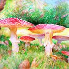 Agaric Family by Adele Gregory