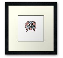 Tribal Holy Time Framed Print