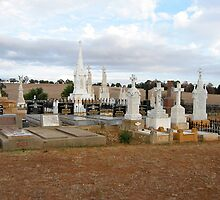 Galong Cemetry by Jan Stead JEMproductions