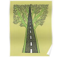 Road and Forest Poster