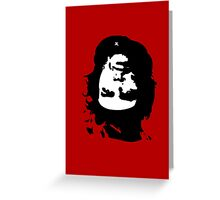 STRANGE CHE Greeting Card