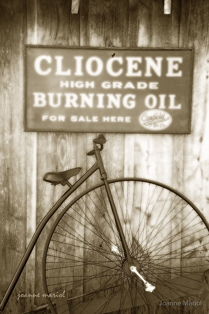 Vintage Bicycle 1 by Joanne Mariol