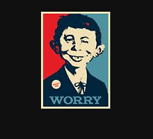 WHAT ME WORRY Unisex T-Shirt
