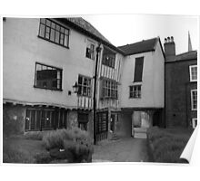 Crooked House, Tombland, Norwich Poster