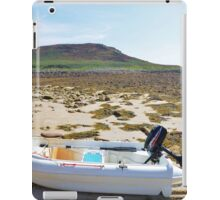 Dinghy On A Beach iPad Case/Skin