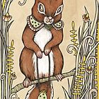 Squirrel by Anita Inverarity