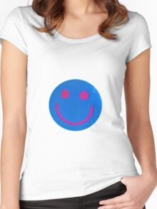 Smiley Women's Fitted Scoop T-Shirt