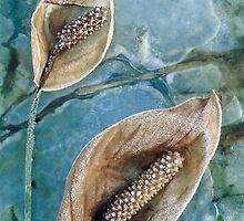 Frozen Lilies by JulieP