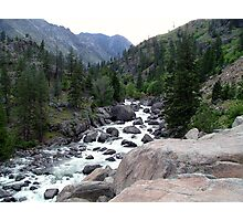 Wenatchee River Photographic Print