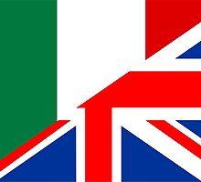 uk italy flag by tony4urban
