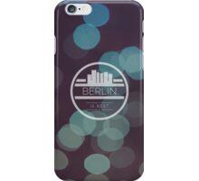 Berlin is best bubble artwork iPhone Case/Skin