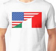usa italy Unisex T-Shirt