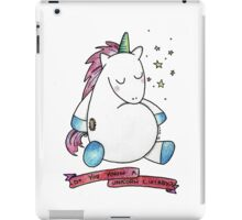 Do you know a lullaby? iPad Case/Skin