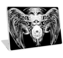 Lion Witch with Wings and Chrystal Ball Laptop Skin