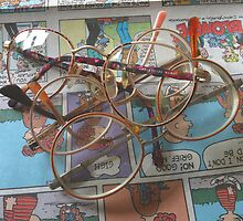Comic Glasses by Douglas Hill