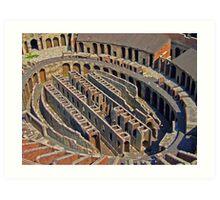 :))Coloseum. Where is it? Art Print