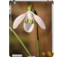 Snowdrops 2 iPad Case/Skin