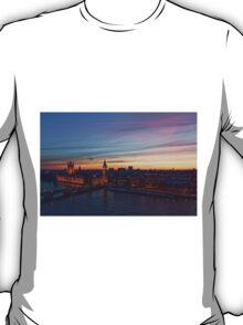 Sunset Over London - A Bird View T-Shirt
