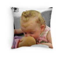 Child CPR Throw Pillow