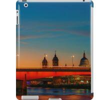 London At Twilight, England iPad Case/Skin