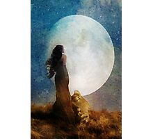 Man in the Moon Photographic Print