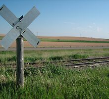 Nebraska Level Crossing   by jojobob