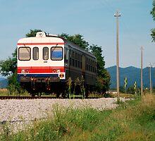 Rural Italian Train  by jojobob