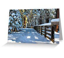 Just Outside Yosemite - #10 Greeting Card