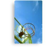 Basketball hoop  Canvas Print