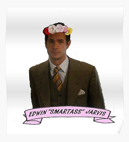 """Edwin """"Smartass"""" Jarivs Poster"""