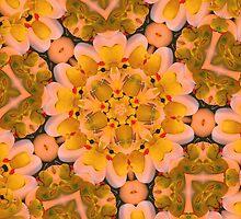 Yellow Rubber Ducky Kaleidoscope by SmilinEyes