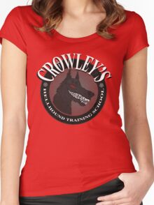 Crowley's Hellhound Training School Women's Fitted Scoop T-Shirt