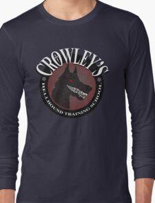 Crowley's Hellhound Training School Long Sleeve T-Shirt
